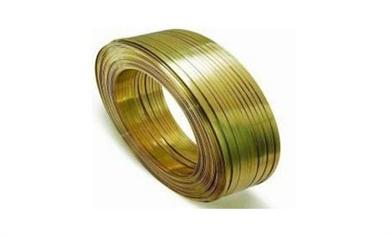 Brass Flat Wire (Flat Shaped Brass Wire)